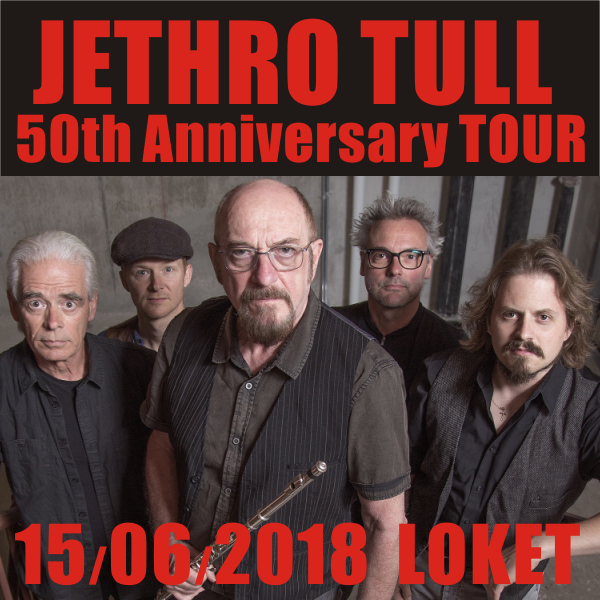 JETHRO TULL: 50th Anniversary TOUR