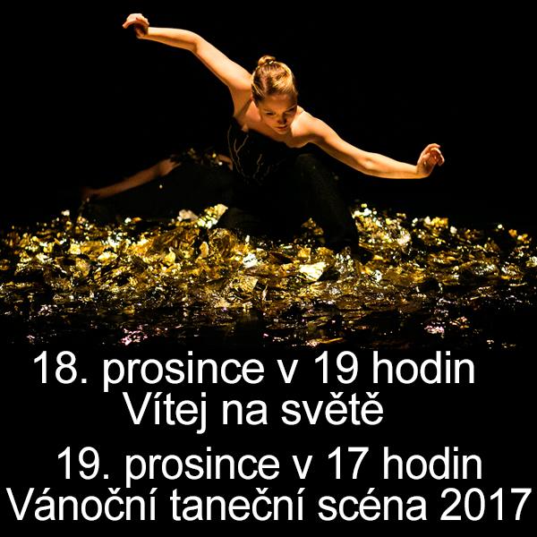 Vánoční taneční scéna 2017