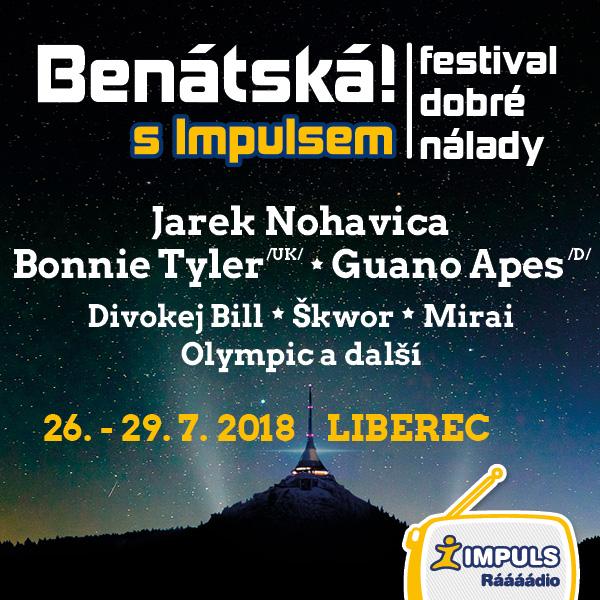 BENÁTSKÁ! S IMPULSEM 2018