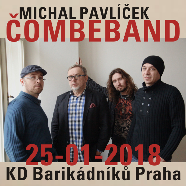 Michal Pavlíček & Čombeband na Barče