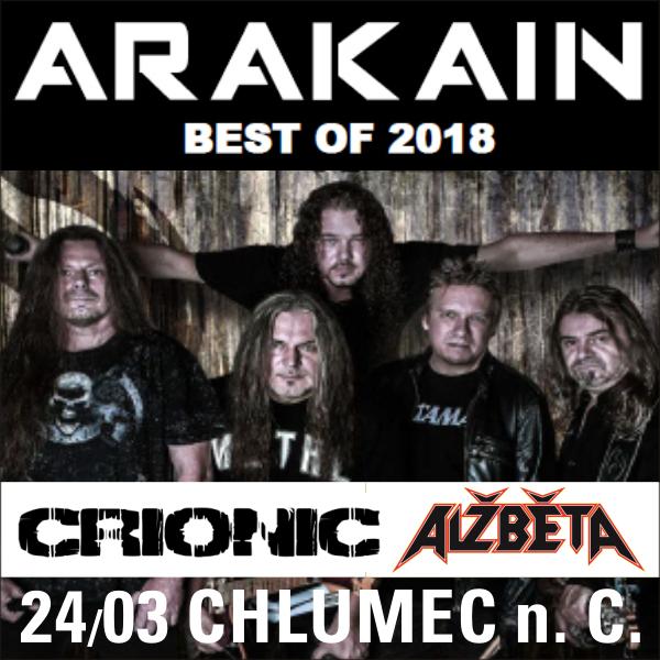 ARAKAIN Best of, Chlumec nad Cidlinou