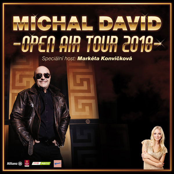 Michal David OPEN AIR TOUR 2018
