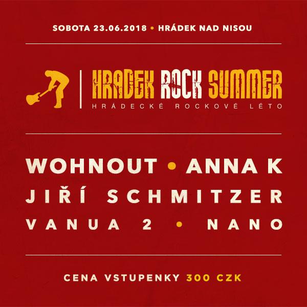 HRÁDEK ROCK SUMMER - HRÁDECKÉ ROCKOVÉ LÉTO 2018