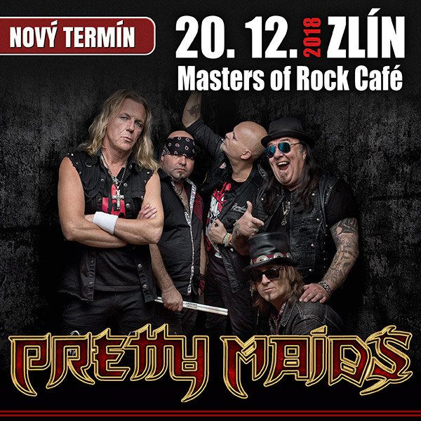 PRETTY MAIDS (DK) - KINGMAKER EUROPEAN TOUR 2018