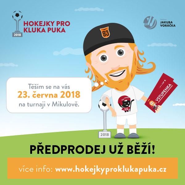 Hokejky pro Kluka Puka 2018