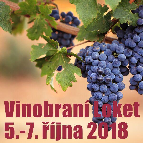Vinobraní Loket 2018 (12. ročník)