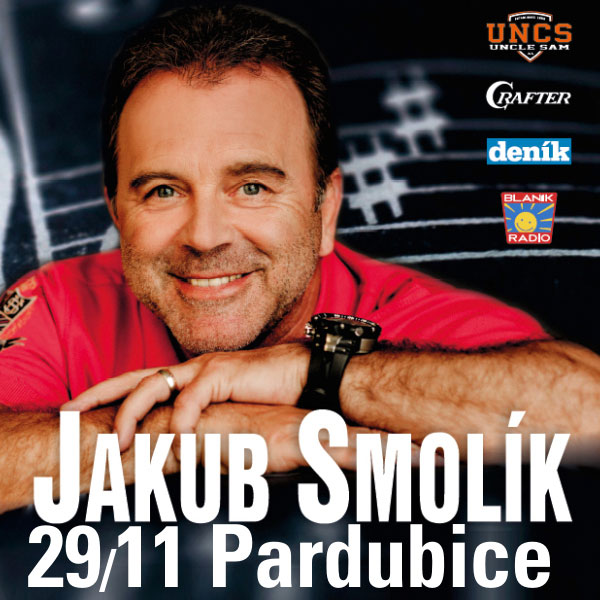 JAKUB SMOLÍK s kapelou - VÁNOČNÍ KONCERT Pardubice