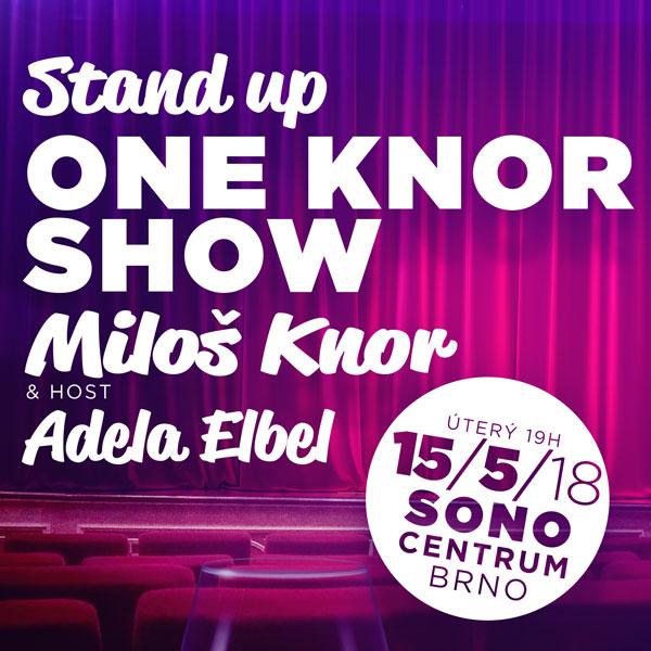 ONE KNOR SHOW - Největší stand-up comedy v ČR!