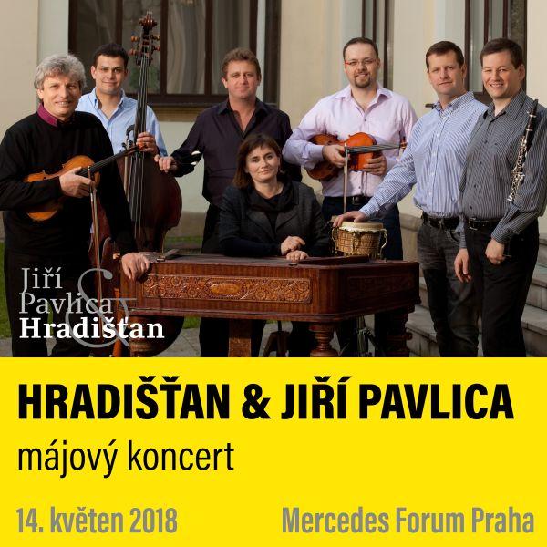 HRADIŠŤAN & JIŘÍ PAVLICA - májový koncert