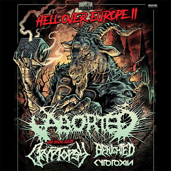 ABORTED (BE) - HELL OVER EUROPE II