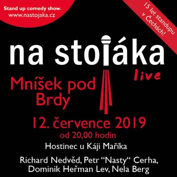 Na stojáka - live!