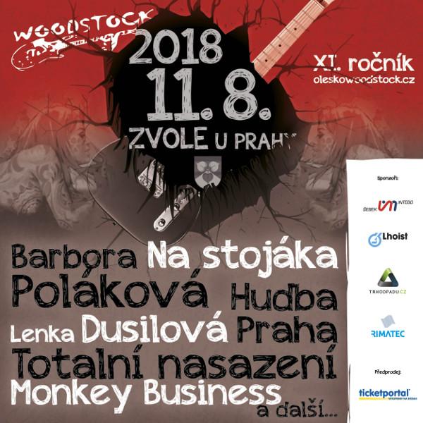 OLEŠKO U ZVOLE WOODSTOCK 2018