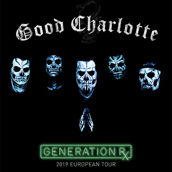 GOOD CHARLOTTE / US - Generation Rx Tour 2019