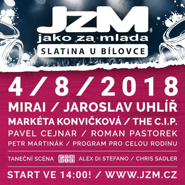 JzM 2018 - Letní akce Jako Za Mlada Slatina