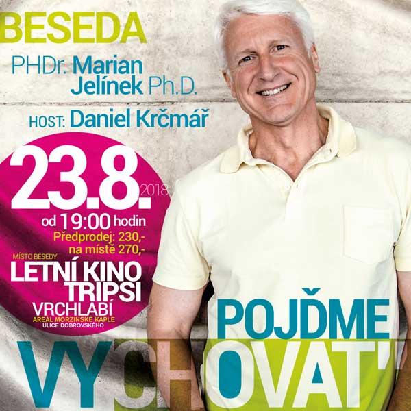 PhDr. Marian Jelínek Ph.D. a host Daniel Krčmář