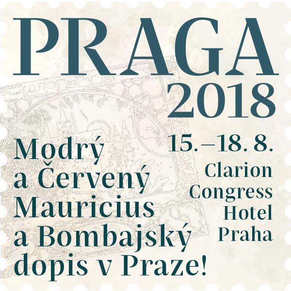Světová výstava poštovních známek PRAGA 2018