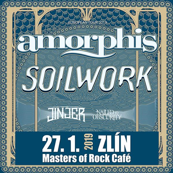 AMORPHIS (FI) & SOILWORK (SE) - EUROPEAN TOUR 2019