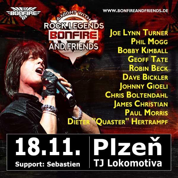 BONFIRE & FRIENDS, A Night With Rock Legends