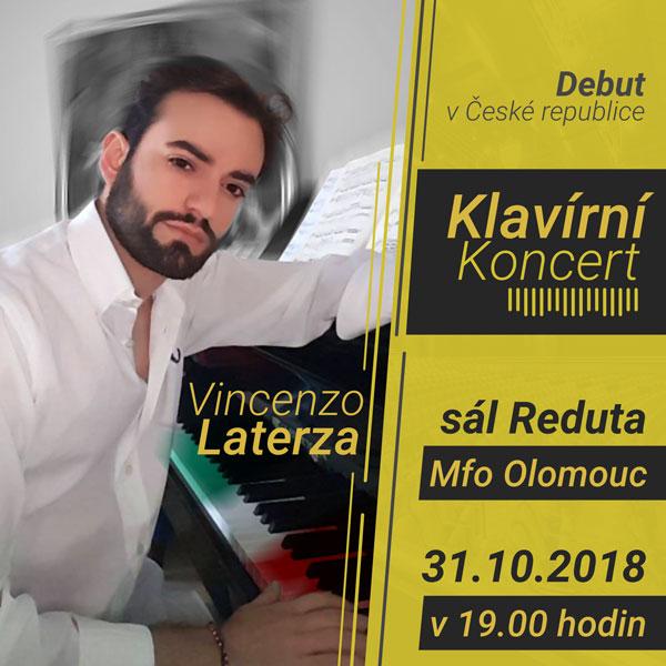 VINCENZO LATERZA - klavírní koncert
