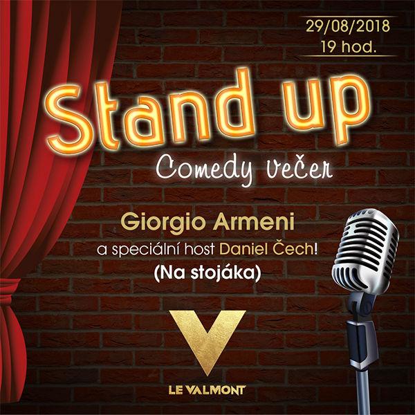 Stand up comedy večer v Le Valmont