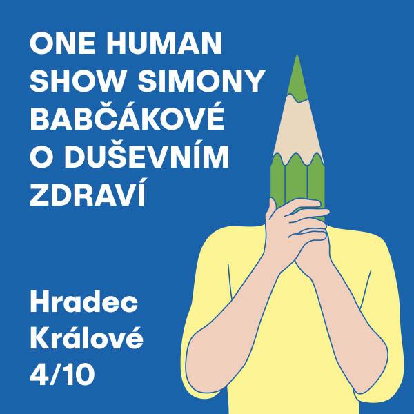One Human Show SIMONY BABČÁKOVÉ o duševním zdraví
