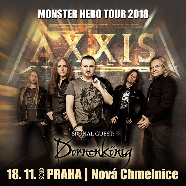 AXXIS (DE) - MONSTER HERO TOUR 2018