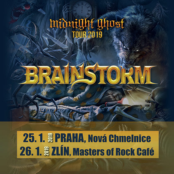 BRAINSTORM (DE) - MIDNIGHT GHOST TOUR
