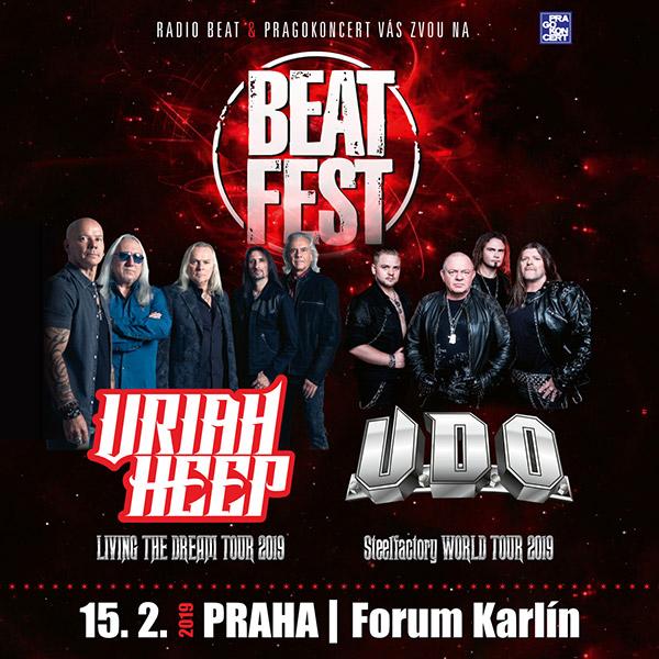 BEATFEST – URIAH HEEP (UK) & U.D.O. (DE)