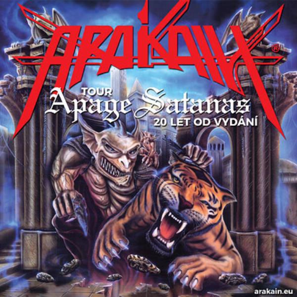 ARAKAIN APAGE SATANAS TOUR 2018