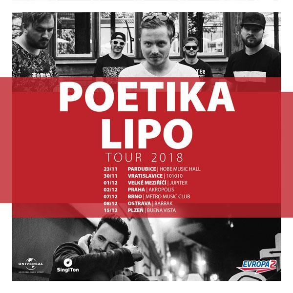 POETIKA & LIPO TOUR 2018