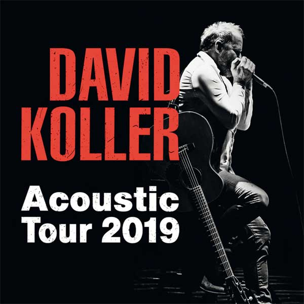 DAVID KOLLER ACOUSTIC TOUR 2019