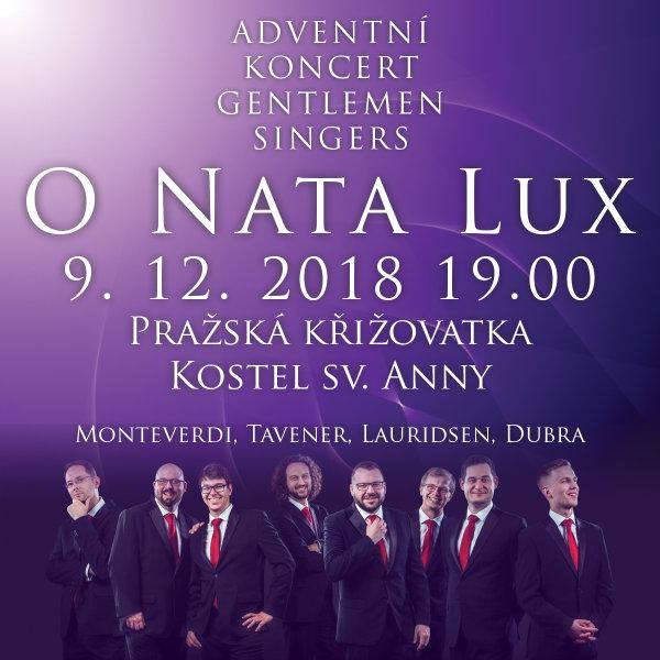GENTLEMEN SINGERS - Adventní koncert
