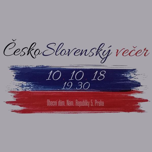 ČESKO-SLOVENSKÝ VEČER V PRAZE