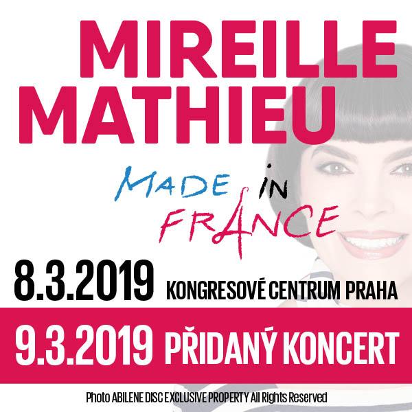 MIREILLE MATHIEU - MADE IN FRANCE TOUR 2019