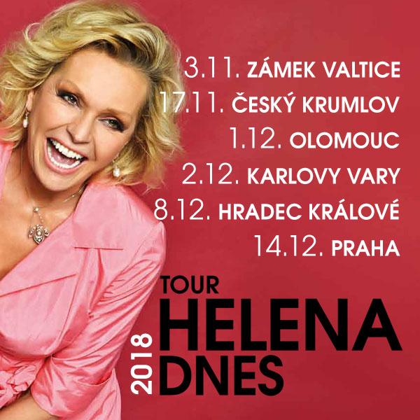 Helena Vondráčková - tour Helena DNES