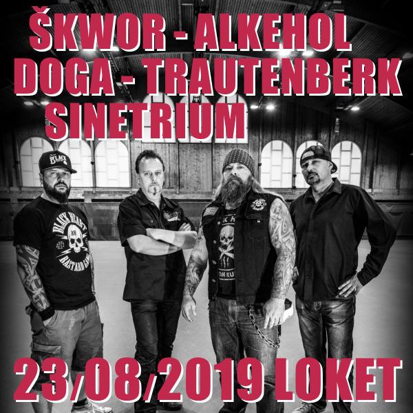 ŠKWOR - ALKEHOL - DOGA - TRAUTENBERK - SINETRIUM