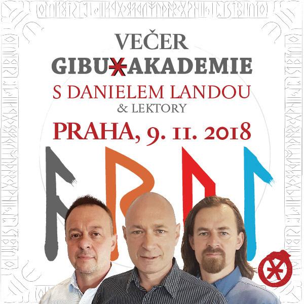 VEČER GIBU AKADEMIE - DANIEL LANDA & LEKTOŘI