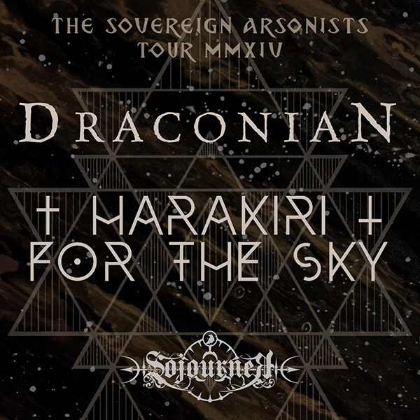 DRACONIAN (SE) + HARAKIRI FOR THE SKY (AT)