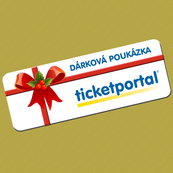 Dárková poukázka Ticketportal 2019