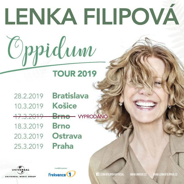 LENKA FILIPOVÁ – Oppidum tour 2019