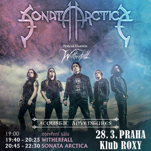 SONATA ARCTICA : ACOUSTIC ADVENTURES TOUR 2019