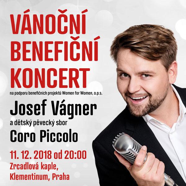 Vánoční koncert - Josef Vágner a Coro Piccolo