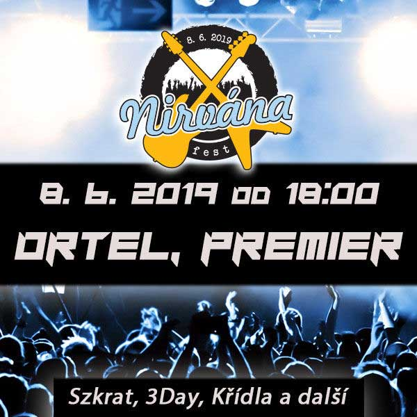 Nirvána Fest Open AIR Otrokovice 2019