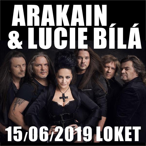 ARAKAIN & LUCIE BÍLÁ, hosté: Tanja, Liberate