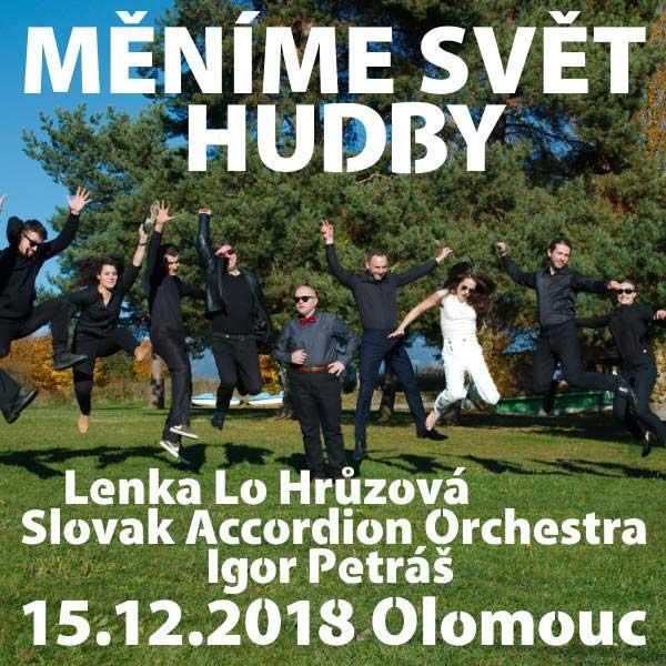 MĚNÍME SVĚT HUDBY Slovak Accordion O, L.Lo Hrůzová