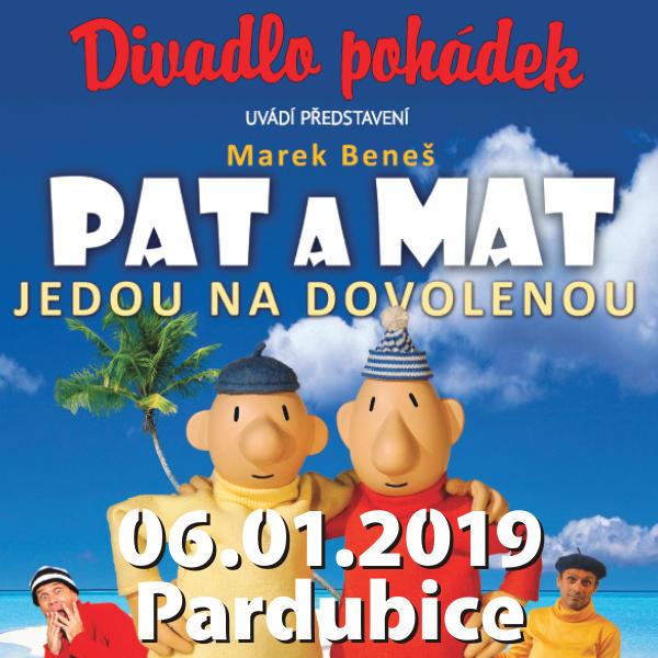 PAT A MAT JEDOU NA DOVOLENOU / Divadlo pohádek