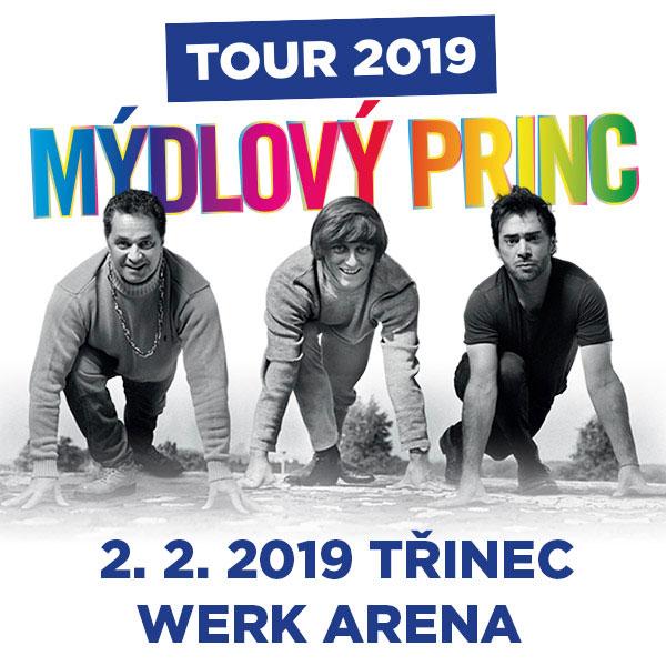 Muzikál MÝDLOVÝ PRINC – Turné 2019
