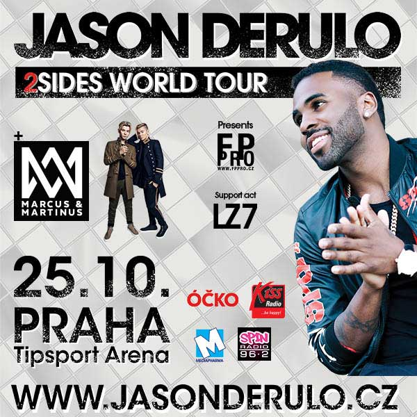 JASON DERULO – 2SIDES WORLD TOUR