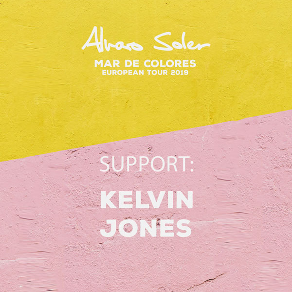 Alvaro Soler - Mar De Colores European Tour 2019