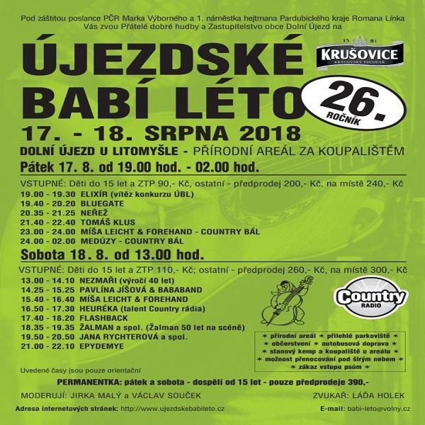 Újezdské babí léto - pátek ZTP/děti do 15 let